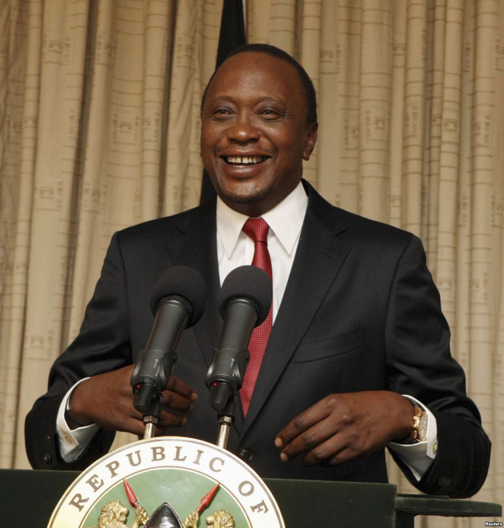 Kenya's 4th President and the 1st under Kenya's new Constitution- Uhuru Kenyatta