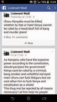 Allan Wadi's Facebook posts that got him a jail term of 2 years