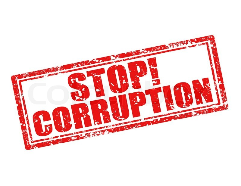 A stop corruption sign. Some Kenyans are calling for a change of tact in the war against corruption given that the current strategy hasn't borne fruits. (photo: https://www.colourbox)