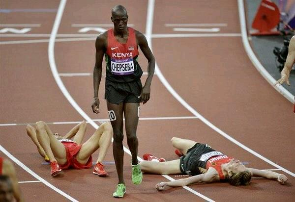 Kenya is famous the world over for its athletics prowess. (Photo/@LeonLidigu