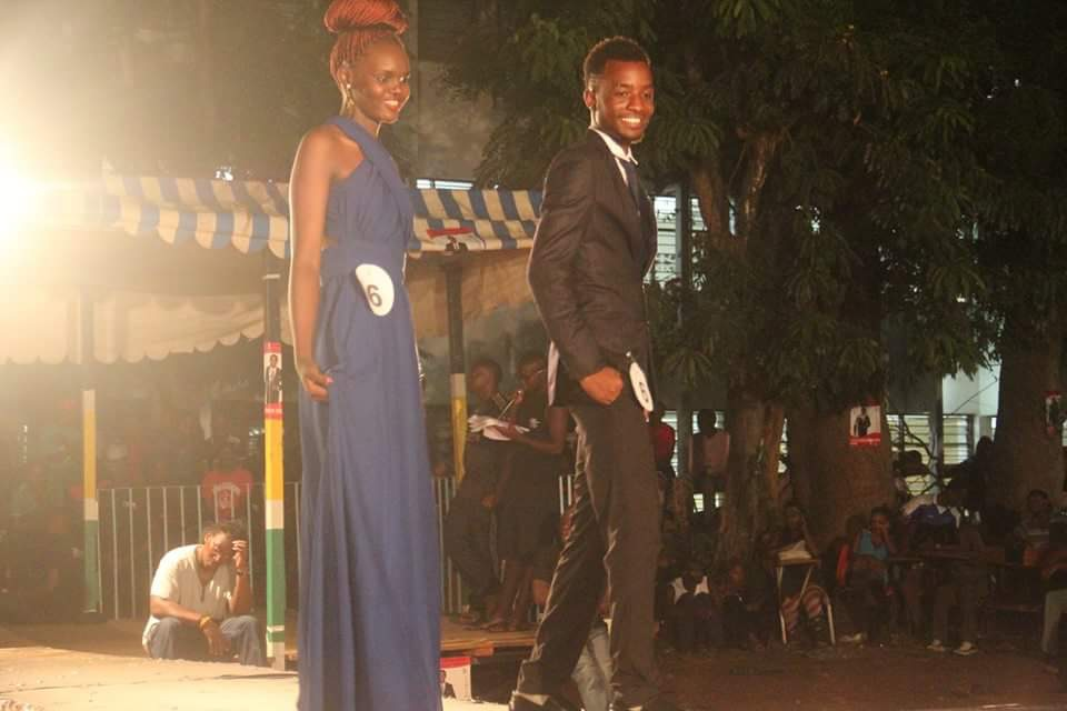 Technical University of Mombasa pageant participants