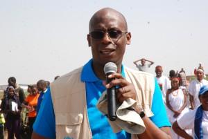 UNHCR Country Representative Raouf Mazou