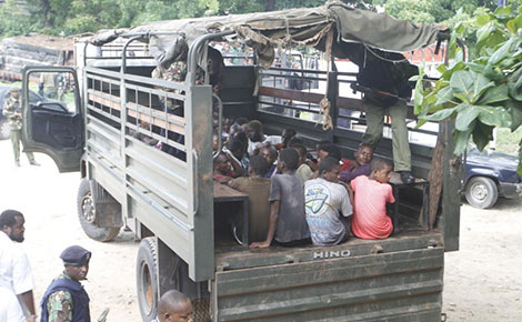 Youths rounded up in Kisauni