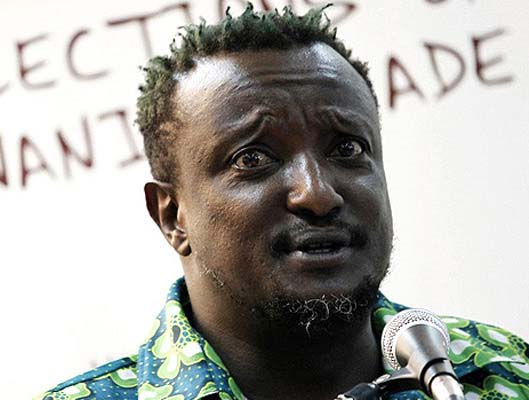 Celebrated Kenyan writer Binyavanga Wainaina who recently came out and has been a vocal spokes person for the Gay rights movement in Kenya
