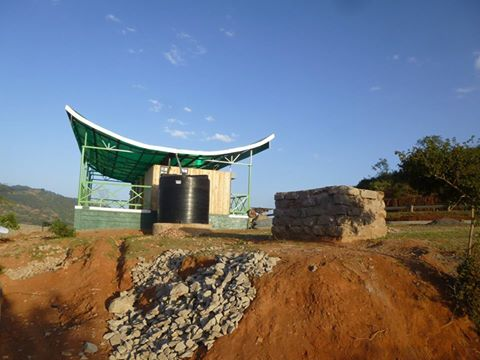 Makongo View point tourist site in Makueni .the project has caused a stir aming residents on social media Photo:Facebook