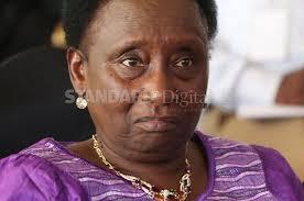 Makueni deputy governor Adelina Mwau Photo:Standard