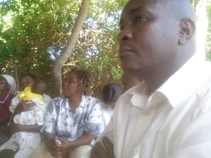 Charles Muia-Vice Chairman-Kivaa Community Unit- (Photo by Lilian Kaivilu)