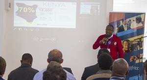 Tony Nyagah, CEO and Founder of Strauss Energy makes a presentation during the https://www.monitor.co.ke/wp-content/uploads/2015/06/Growth-Africa-Green-Pioneer-Accelerator-Venture-Forum held in Nairobi. (Photo Courtesy of GrowthAfrica).jpg