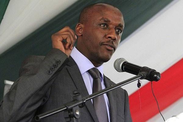 Makueni Senator Mutula Kilonzo Jnr.His remarks have sparked a border dispute between Makueni and Kajiado Photo:Google