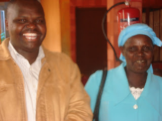 Fr.Nzuki and his mother in Tawa court