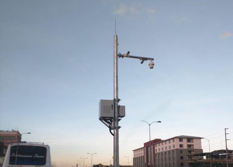 Surveillance Cameras installed by Safaricom (twitter.com/kariukidw)