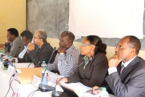 Mohammed Nyaoga led commission at Wote during public hearings photo:Google