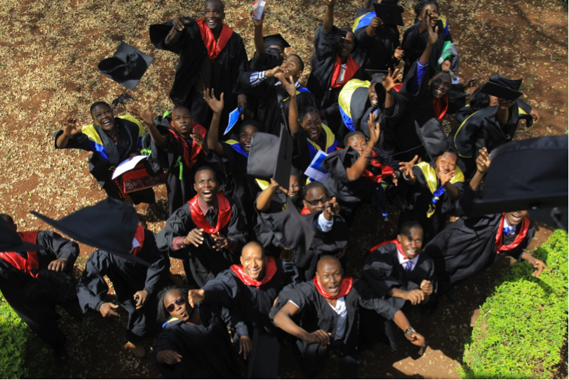 The graduation ceremony of the 131 youths. [Photo: McKinsey Social Initiative]