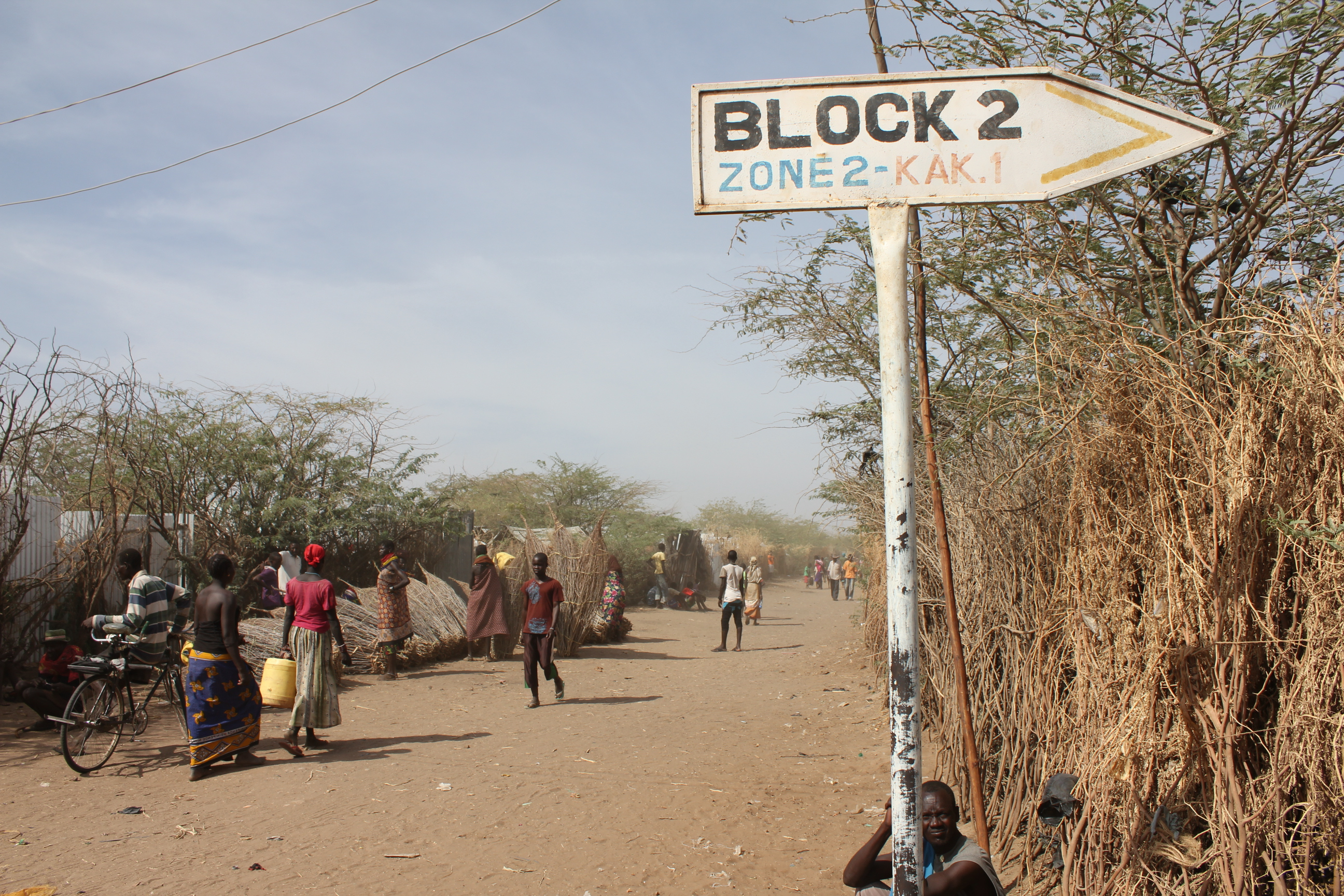 An avenue within Kakuma Refugee Camp. The funds will also be spent on reuniting children with their families. [Photo: Kakuma_kanere.org]