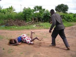 A victim of gender violence Photo : Nayakenya. Com