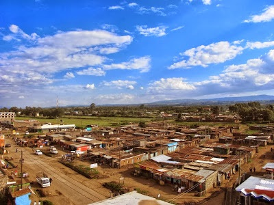 Njoro Township in Nakuru. This would become a costly town to live in due to degradation and limited resources. [Photo: Njenga Hakeenah]