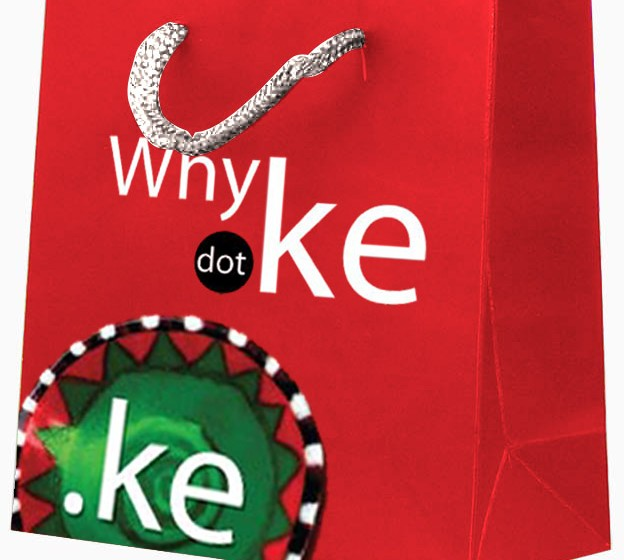 A goodie bag from the just ended KENIC campaign encouraging Kenyans to take up .co.ke domains